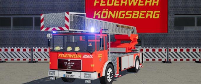 MAN – Drehleiter 23/12 [Metz] Feuerwehr Königsberg