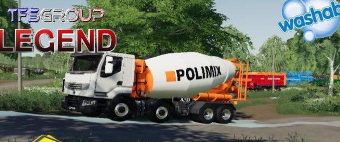 Renault-premium-520dxi-concrete-mixer