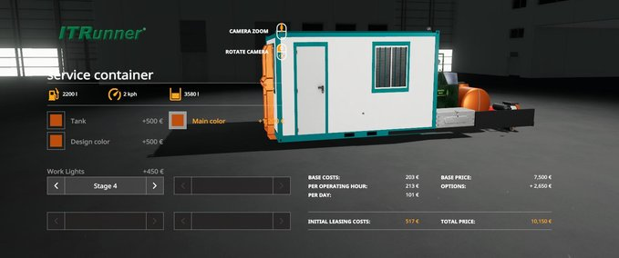 Hooklift-service-container-mod