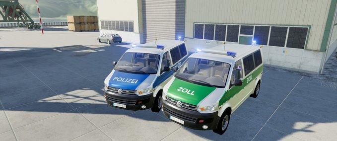 Vw-t5-polizei-und-zoll-mit-universalpassenger