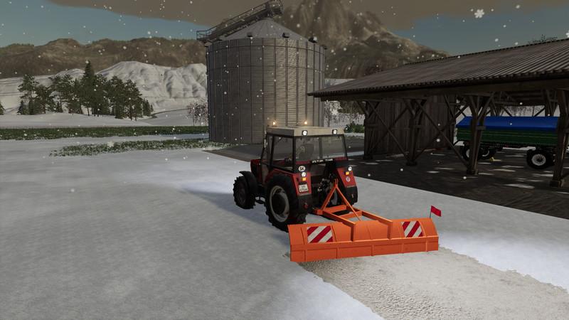 Farming Simulator Snow Plow