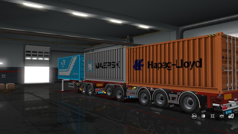 Ets 2 D Tec Combitrailer V1 0 1 36 X V 1 2 Trailer Mod Fur Eurotruck Simulator 2