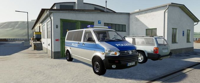 Vw-t5-police-and-customs-with-universal-passenger