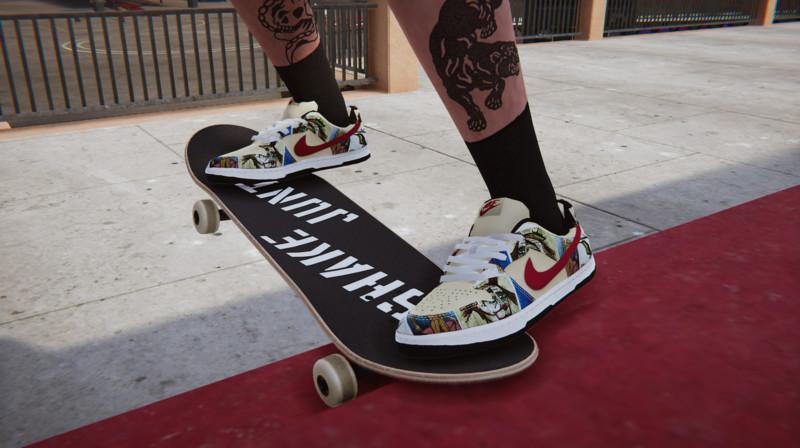 """Intento contaminación Enfadarse  Skater XL: Nike Dunk SB """"Paris"""" v 1.0.0 Gear, Real Brand, Shoes  Mod für Skater XL"""