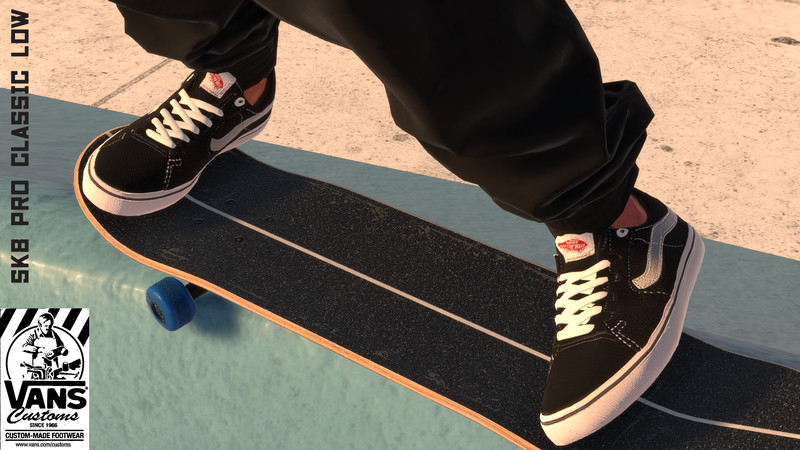 Skater XL: Vans SK8 Low Pro Classic v