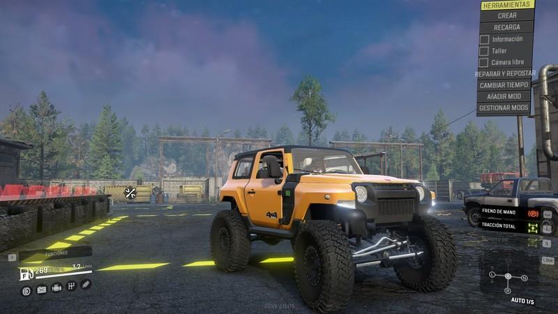 SnowRunner: Troller T4 2020 Ford v 1.0 Subscribe, Vehicle ...