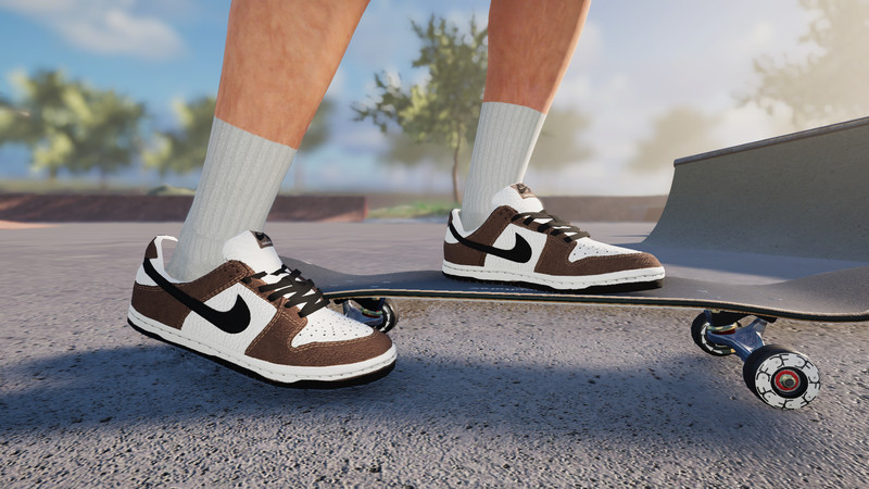 su capitalismo Cuña  Skater XL: Nike SB Dunk Low Trail End Brown v 1.0 Gear, Real Brand, Shoes  Mod für Skater XL