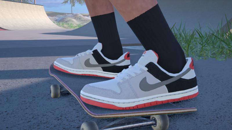 picnic Ocho opción  Skater XL: Nike SB Dunk Low Pro Infared v 1.0.0 Gear, Real Brand, Shoes Mod  für Skater XL