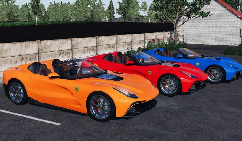 Ls 19 Ferrari F12 Trs Roadster V 1 0 0 0 Pkws Mod Für Landwirtschafts Simulator 19