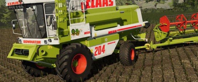 Claas Dominator 20x Mega