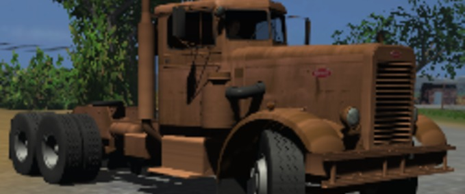how to get the peterbilt 281 on ats