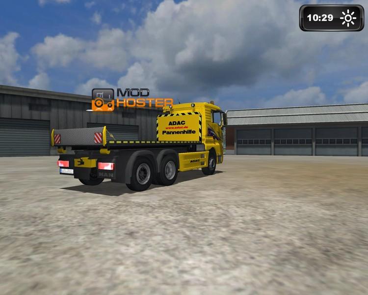 Dodge Ram Sattelauflieger >> LS 2011: MAN TGX HKL ADAC v 1 MAN Mod für Landwirtschafts Simulator 2011   modhoster.de