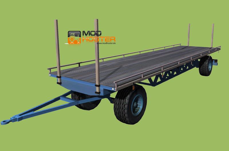 Fs 2011 Ballenwagen V Bale Transport Mod F 252 R Farming