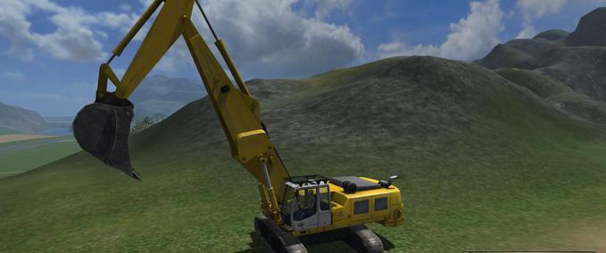Fs 2011 Crawler Excavator Bucket V 1 Exevators Mod F 252 R Farming Simulator 2011