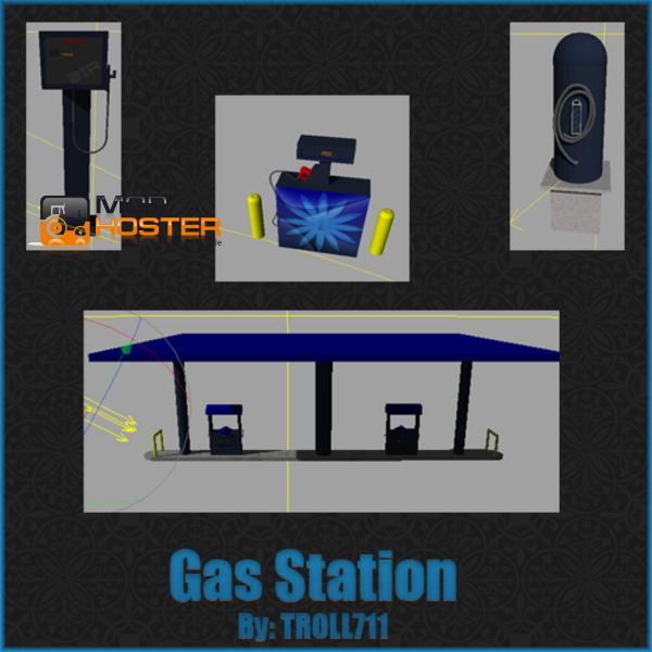 Ls 2011 Gas Station Pack V Geb 228 Ude Mit Funktion Mod F 252 R