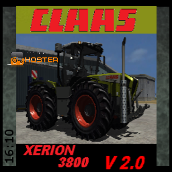 FS 2011: Claas Xerion 3800 v 2 Claas Mod für Farming