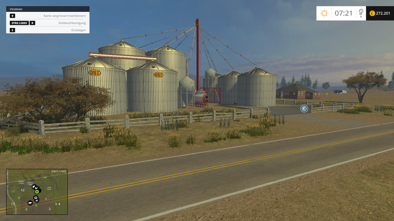 WIP project USA California Map Central Valley beta WIP