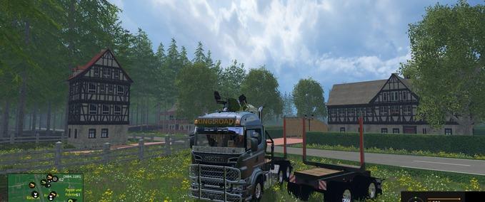 Scania-langholz