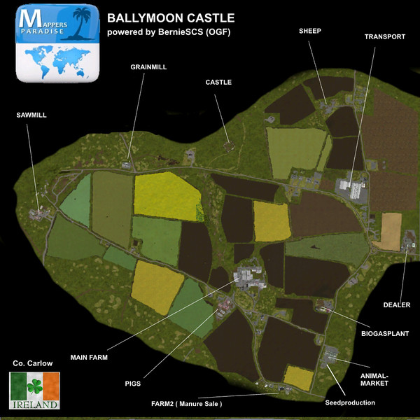 Wip Project Fs17 Irish Map Project Mod Contest Ballymoon Co