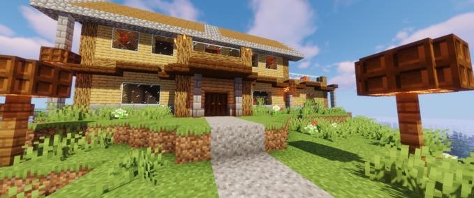 Minecraft-mittelalter-map